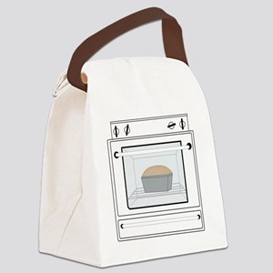 bun-in-the-oven Canvas Lunch Bag