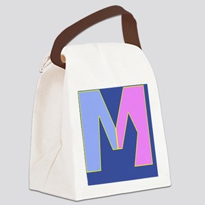 M for Marriage Canvas Lunch Bag