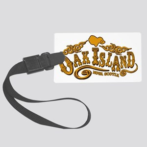 Oak Island Saloon Large Luggage Tag