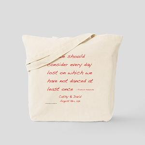 Nietzsche1customdark Tote Bag