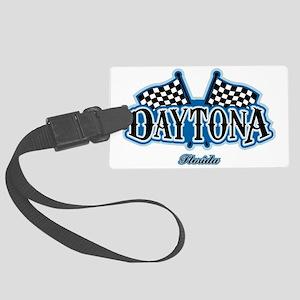 Daytona Flagged Large Luggage Tag