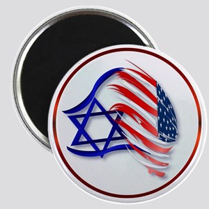 Stand With Isreal Circle Trans- Magnet