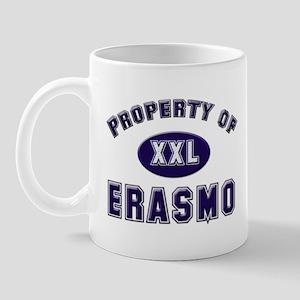 Property of erasmo Mug