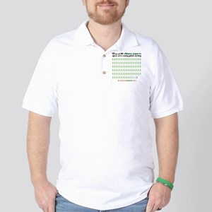 97 out of 100 climate experts Golf Shirt