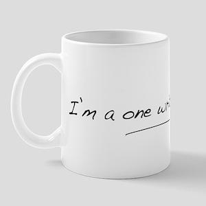 one_writer_black_2000x500 Mug