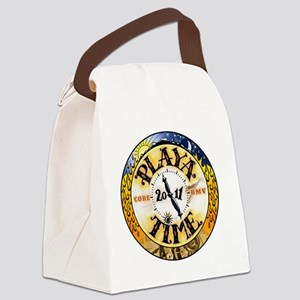 Playa Time Canvas Lunch Bag