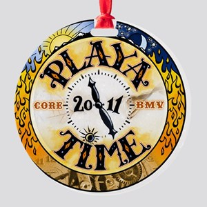 Playa Time Round Ornament