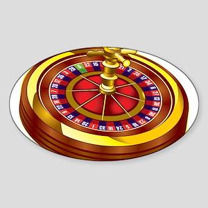Roulette Wheel Sticker