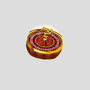 Roulette Wheel Mini Button