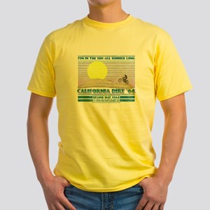 calidirtnew01 Yellow T-Shirt