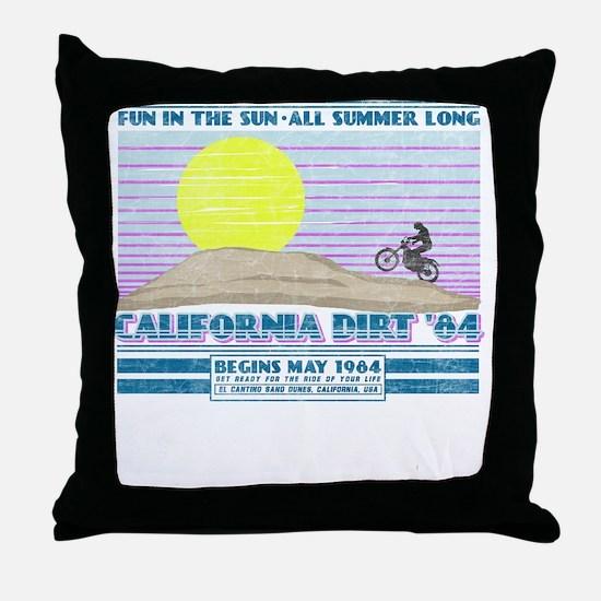 calidirtnew01 Throw Pillow