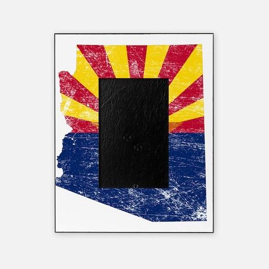 Arizona Flag Map Picture Frame