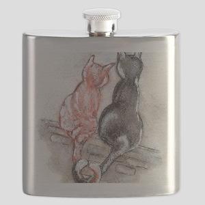 Cat Mates Flask