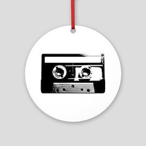 Cassette Tape Ornament (Round)