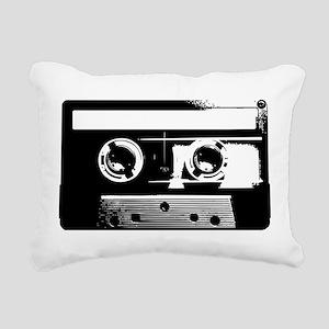 Cassette Tape Rectangular Canvas Pillow