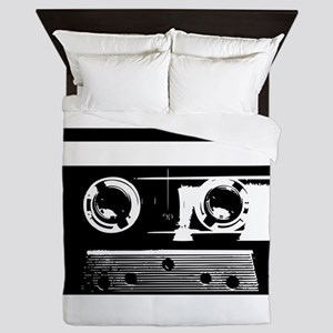 Cassette Tape Queen Duvet