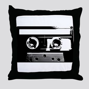 Cassette Tape Throw Pillow