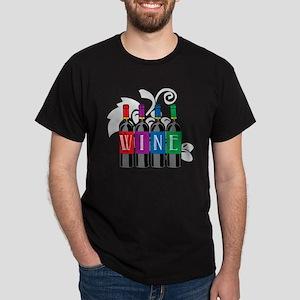 Wine-Bottles Dark T-Shirt