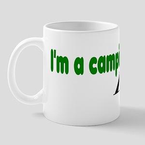 Im a camping bumper 10x3 Mug