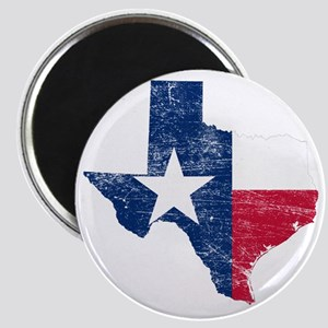 Texas Flag Map Magnet