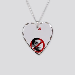 Christian Nation-blk Necklace Heart Charm