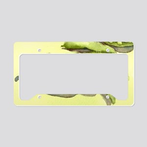 peasonyellow License Plate Holder