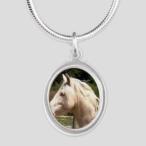 rayturnapr2crop Silver Oval Necklace