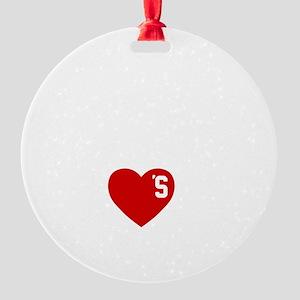 thisGIRl-nashville-1 Round Ornament