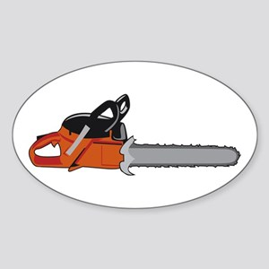 Chainsaw Sticker