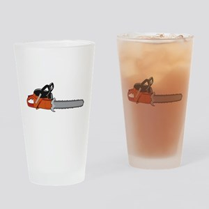Chainsaw Drinking Glass