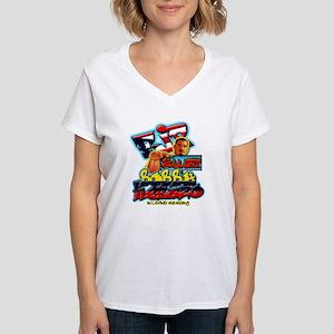 Bobby Herazo Women's V-Neck T-Shirt