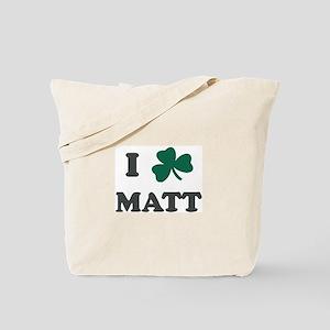 I Shamrock MATT Tote Bag