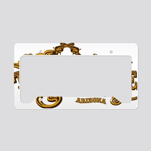 Tombstone Saloon License Plate Holder