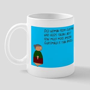 Old woman Mug
