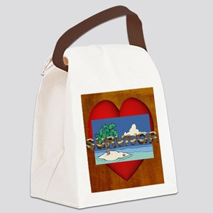 survivorslove1 Canvas Lunch Bag