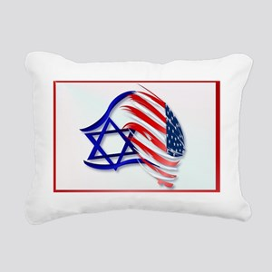 Stand With Israel -Yards Rectangular Canvas Pillow
