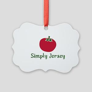 JT-002Wsc_JerseyTomato Picture Ornament
