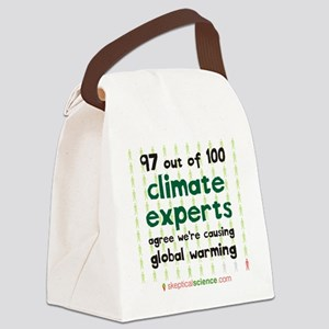 Climate Consensus Canvas Lunch Bag