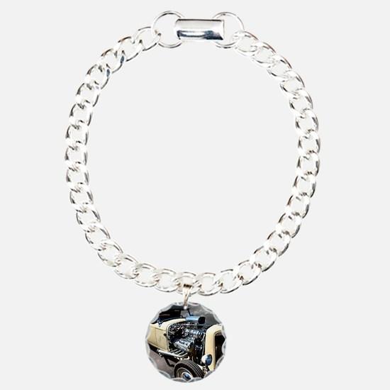 yellowratrodbwsky2square Bracelet