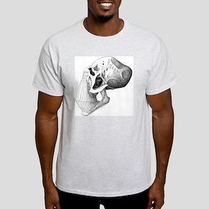 10x10_ap  white-death Light T-Shirt