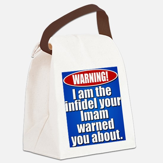 cp_imam_button Canvas Lunch Bag