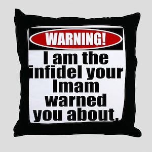 cp_imam_lt Throw Pillow