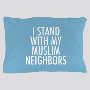 Stand with Muslims Pillow Case