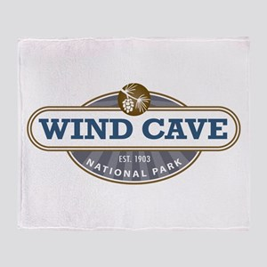 Wind Cave National Park Throw Blanket
