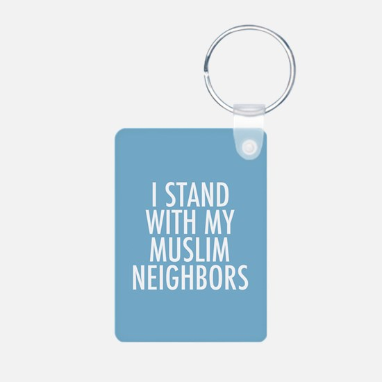 Stand with Muslims Keychains
