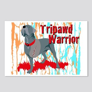 Tripawd Warrior 4x6 Card Postcards (Package of 8)