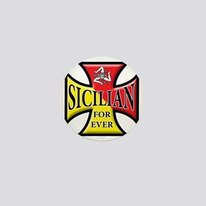 sicilian forever Mini Button