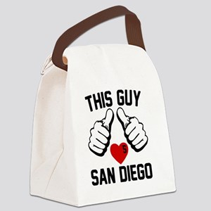 thisGUY-sandiego-1 Canvas Lunch Bag