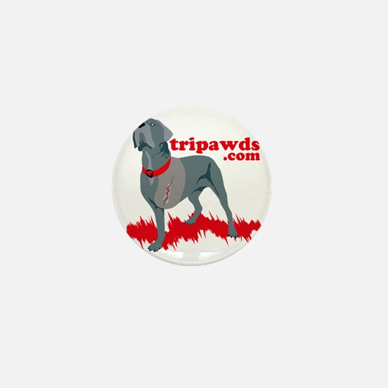 Tripawd Warrior Pocket T Mini Button
