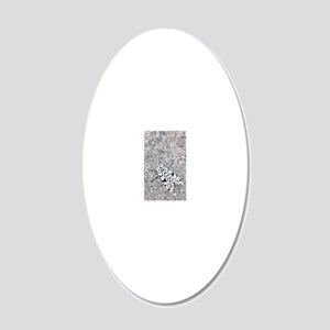 iphone 3moth 20x12 Oval Wall Decal